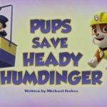 Psi Patrol - Pieski ratują rzeźbę Humdingera [sezon 5]