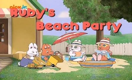Max i Ruby – Plażowe przyjęcie