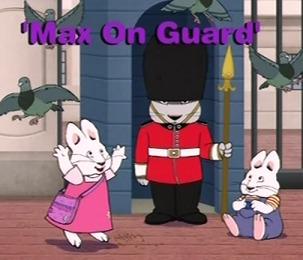Max i Ruby – Max na straży