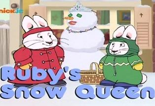 Max i Ruby – Śnieżna Królowa Ruby