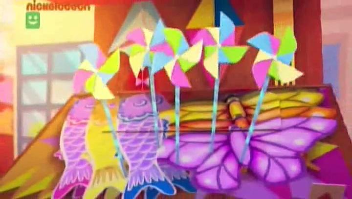 Zack i Kwak – Konkurs papierowych latawców