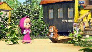 Bajeczki Maszy – Lisica z wałkiem