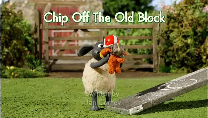 Baranek Shaun The Sheep – Chip off the Old Block