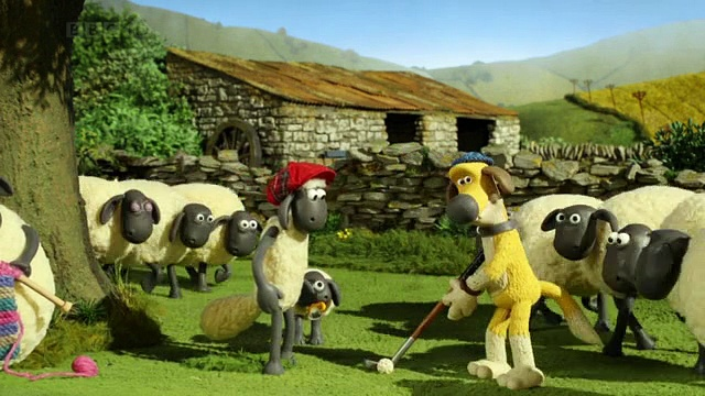 Baranek Shaun The Sheep – Who's the Caddy