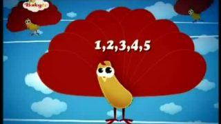 Piosenki dla dzieci – Baby TV – 1,2,3,4,5