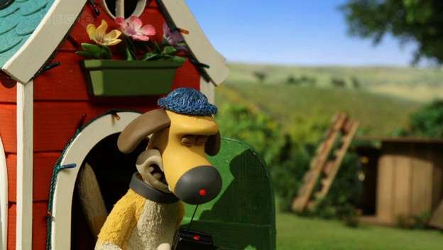Baranek Shaun The Sheep – In the Doghouse