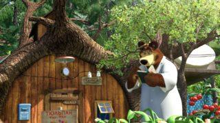 Masza i Niedźwiedź – Eliksir wzrostu
