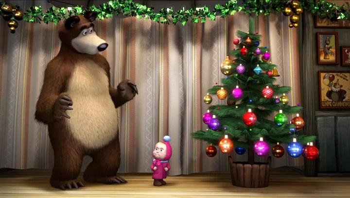Masza i Niedźwiedź – Idą święta