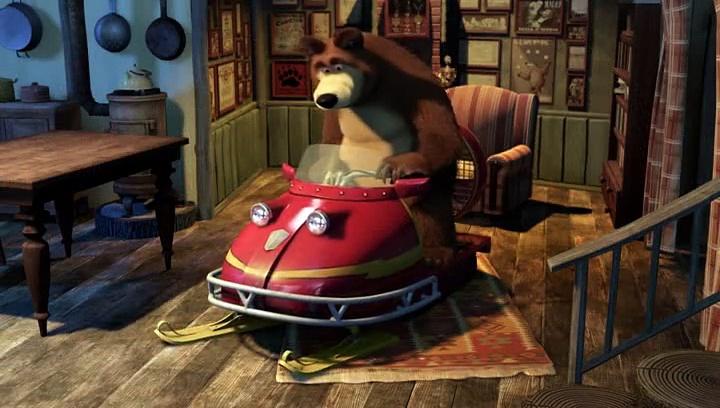Masza i Niedźwiedź – Uwaga, jade
