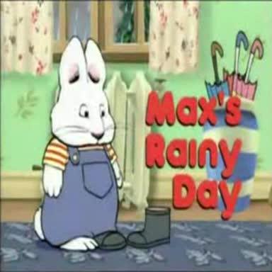 Max i Ruby – Deszczowy dzień