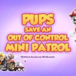 Psi Patrol - Pieski ratują odrzutowy mini patrol