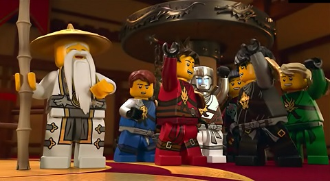 Lego Ninjago Noc Duchów Dubbing Pl 2017 Bajki Na Bajeczkiorg
