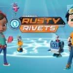 Rusty Rivets Rafcio Śrubka - Rafcio i kosmiczny statek