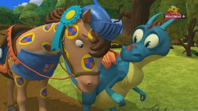 Rycerz Mike – Rycerz Mike i koń w kropki