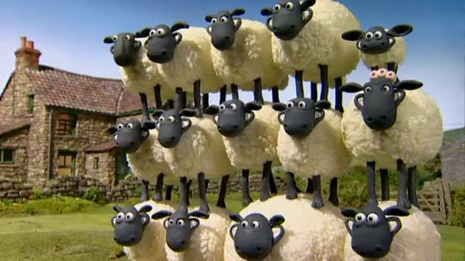 Baranek Shaun The Sheep – Shaun Shoots the Sheep