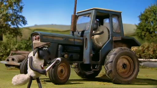 Baranek Shaun The Sheep – Shaun The Farmer