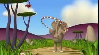 Gazoon – The Elephant does his Aerobics