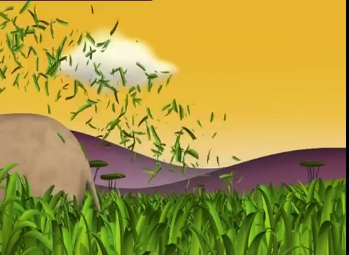 Gazoon – The Elephant Does Some Gardening