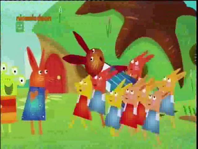 Wanda i zielony ludek – Tańcz, Zajączku, tańcz