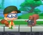 Bąbelkowy Świat Gupików – Chłopiec spotyka wiewiórkę