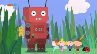 Małe królestwo Bena i Holly – Robot zabawka